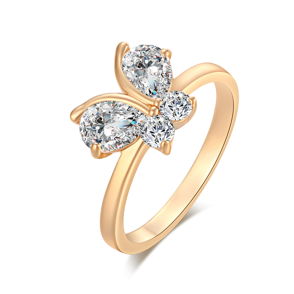 AAAF-butterfly-ring-18K-gold-plated-zircon-alloy-woman-party-elegant-girls