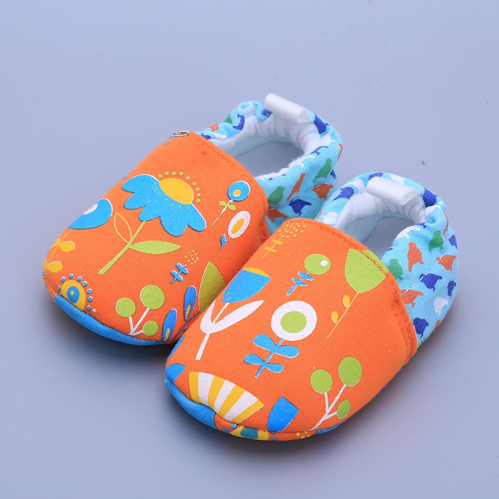 3449-Baby-Toddler-Infant-Soft-soled-Cotton-Sneaker-Prewalker-Slip-on-Shoes