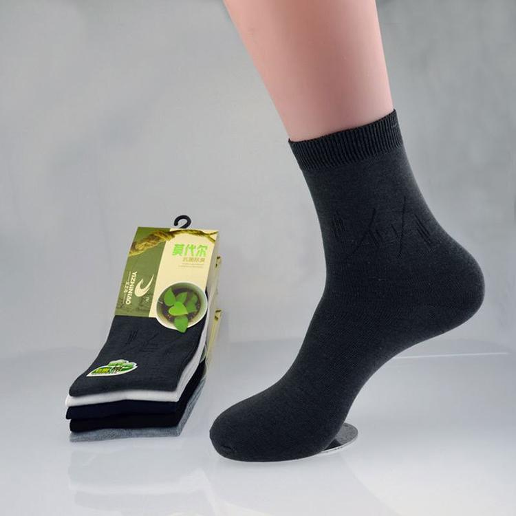 E242-Men-Breathable-Stockings-Bamboo-Casual-Dress-Socks-Business-Sport-Socks