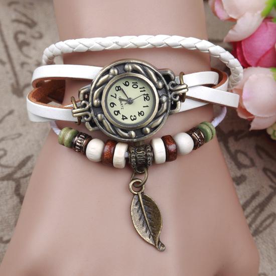BC40-Weave-Wrap-Faux-Leather-Leaf-Bracelet-Quartz-Wrist-Watch-Watches-Fashion