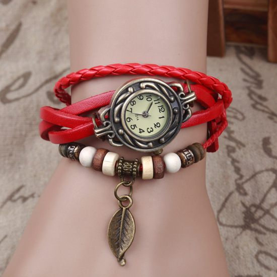 7E64-Weave-Wrap-Faux-Leather-Leaf-Bracelet-Quartz-Wrist-Watch-Watches-Fashion