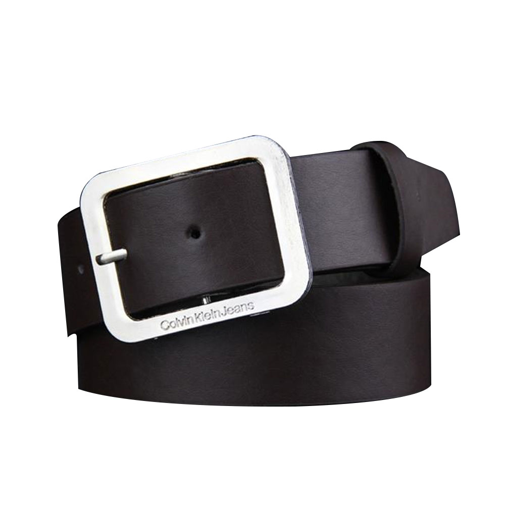 A237-Mens-Belts-New-Waistband-Black-Buckle-Coffee-Leather-Brown-Waist-Strap