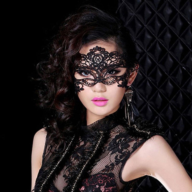 Mysterious masquerade sexy costume