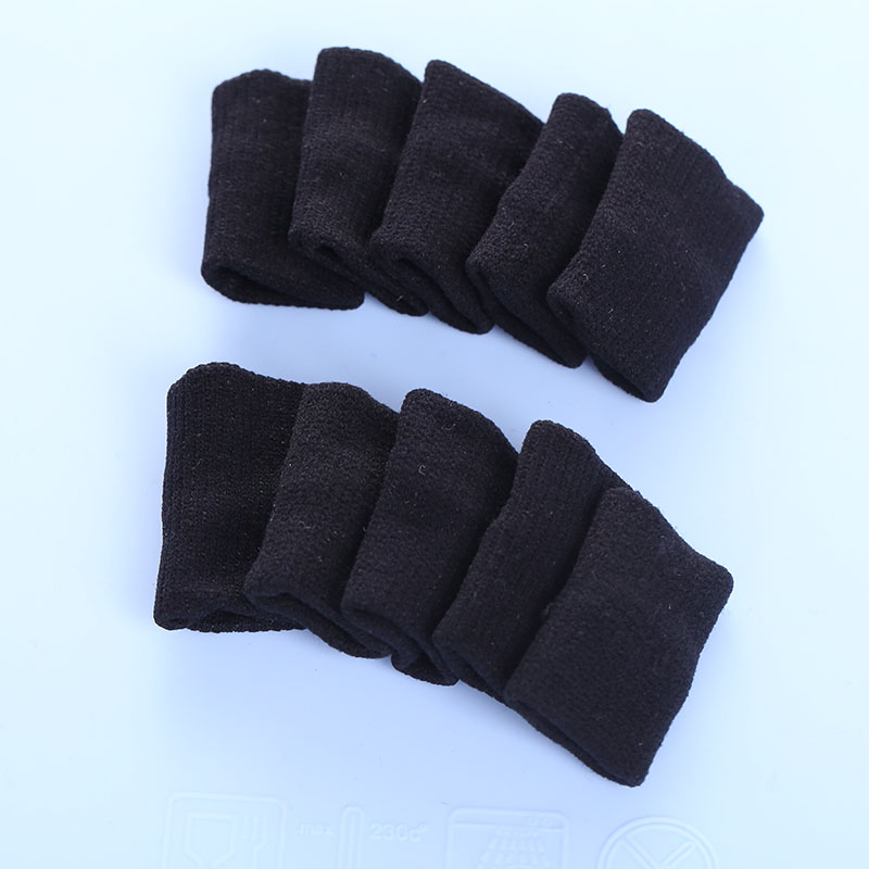 8D31-10Pcs-Stretchy-Finger-Sleeves-Support-Wrap-Arthritis-Guard-Volleyball-Wrap