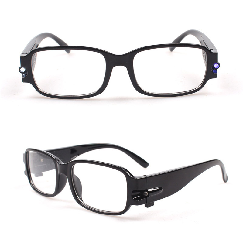led lights reading glasses spectacles vision