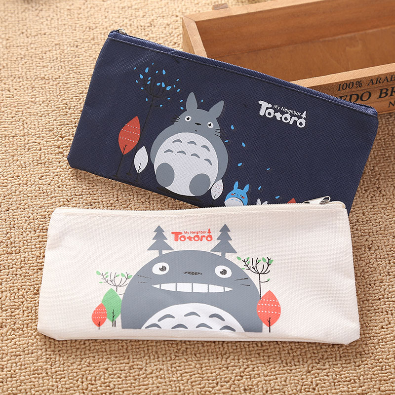 FCA6-New-Totoro-Kids-Cartoon-School-Pencil-Zipper-Purse-Wallet-Bag-Case-Gift
