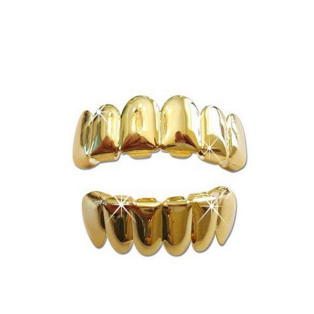 Silver mouth grills - Silver Grillz: Jewellery & Watches