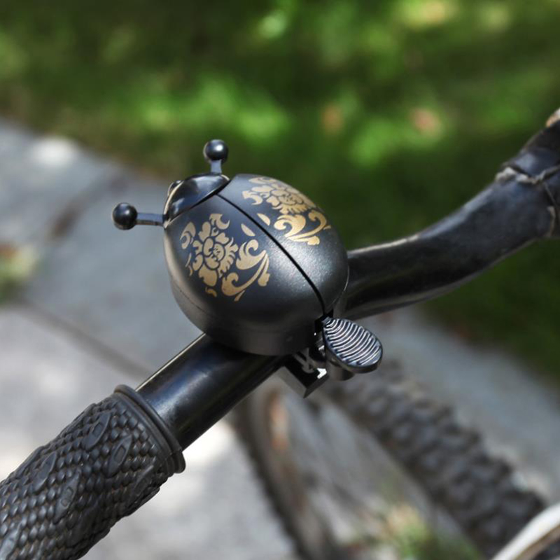 A014-Aluminum-Bicycle-Bike-Lovely-Ladybird-Bell-Horns-Accessories-High-Quality