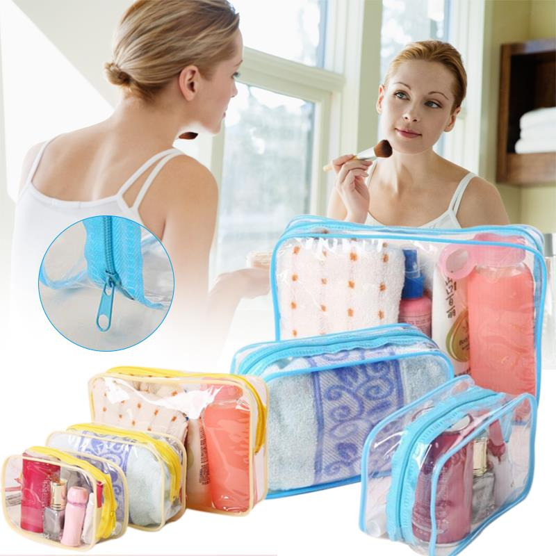 0D33-1-2-3PCS-Transparent-Makeup-Toiletry-Travel-Zip-Bag-Random-color-S-M-L