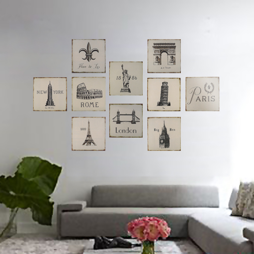 Wooden-Wall-Sticker-Decor-Frameless-Paint-Painting-Pictures-Hot-Gift-Decor