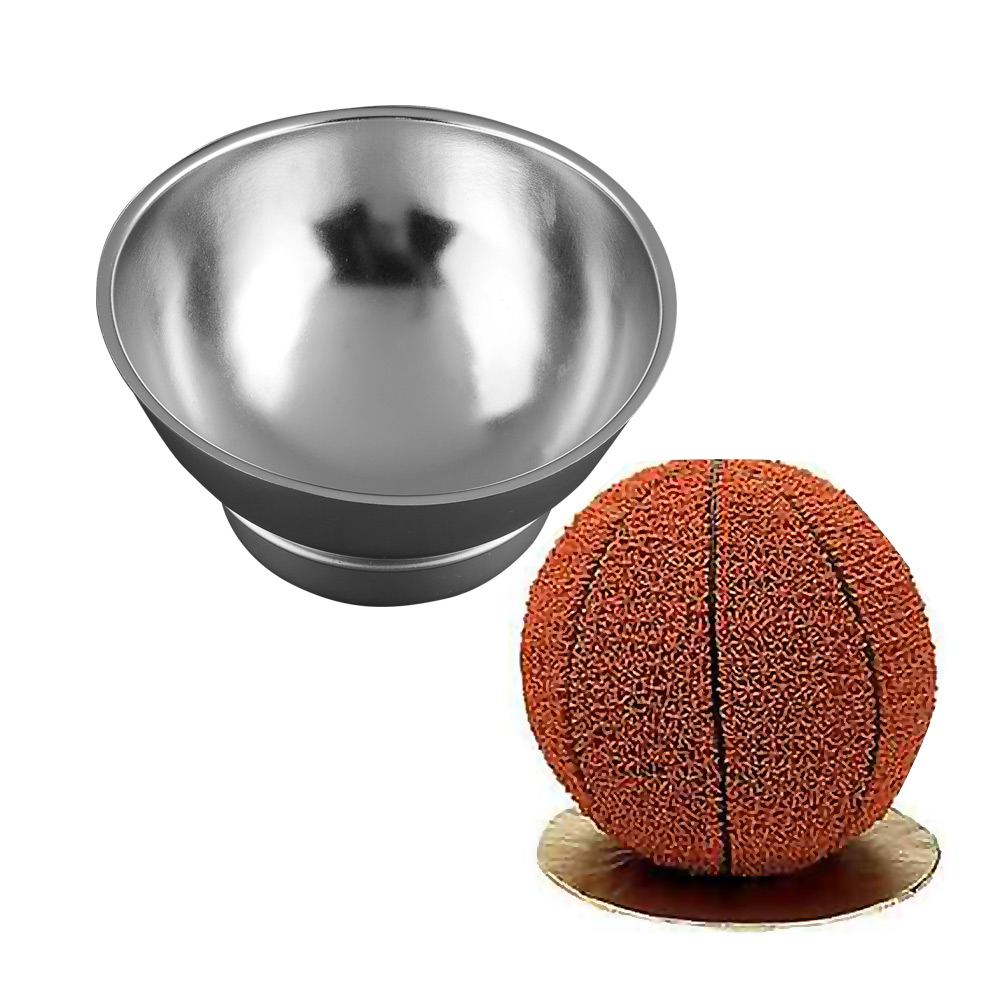 3D Sports Ball Cake Pan Baseball Soccer Tennis Basketball Decorating