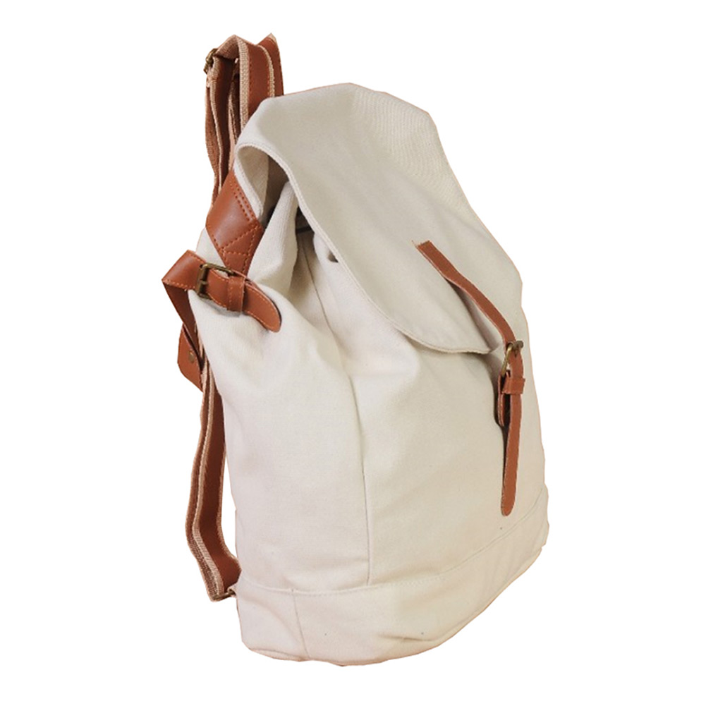 Womens Casual Girls Canvas Satchel Rucksack Schoolbag Backpack Shoulderbag