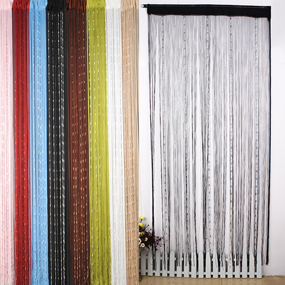 Beaded curtains for doors