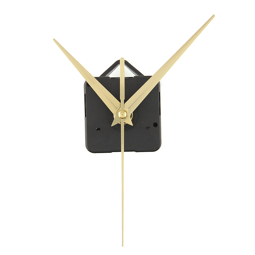 Silent Essential Quartz Clock Movement Mechanism Hands Wall Clock
