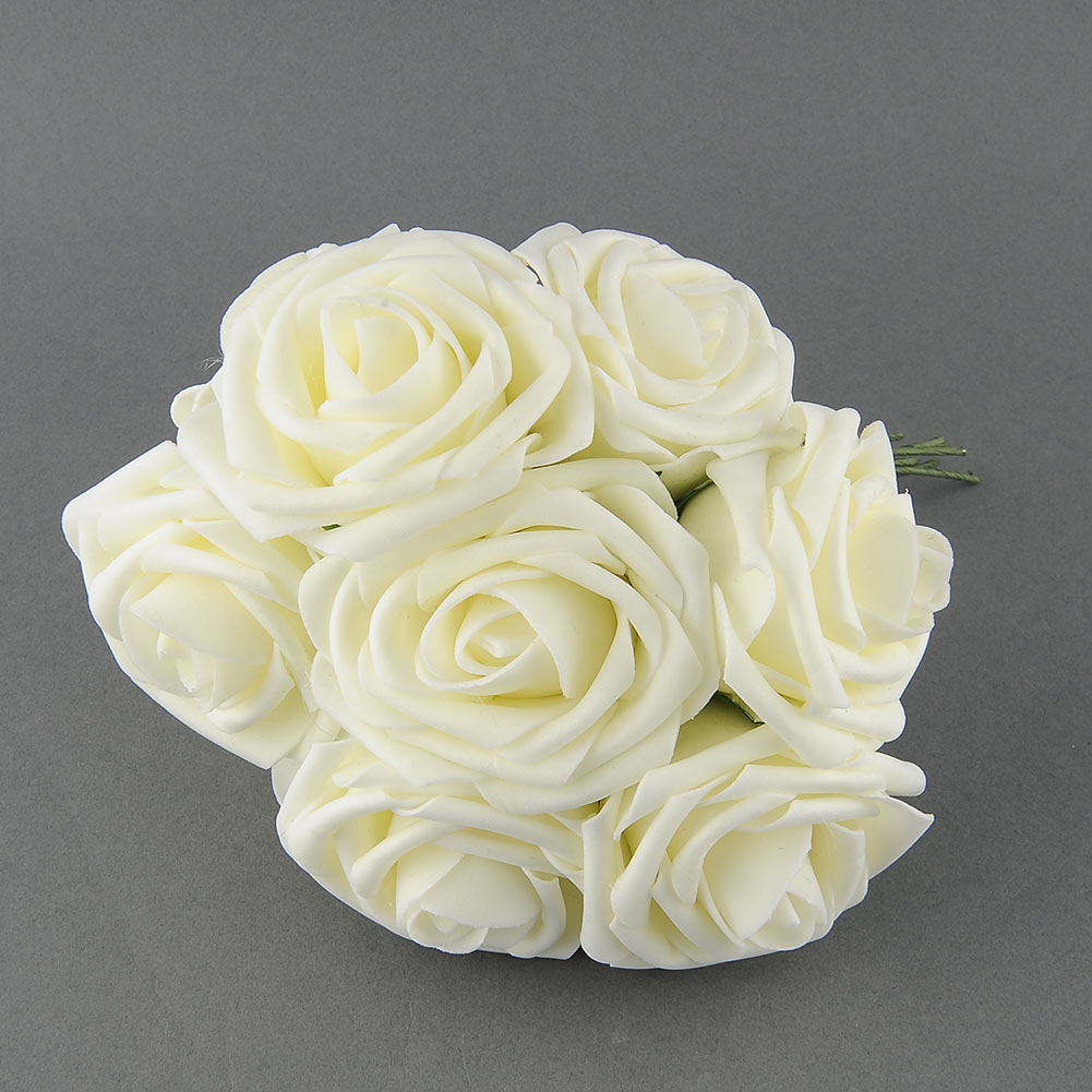 Artificial Rose Flower Wedding Bridal Bouquet Party Prom Rome Home Decor