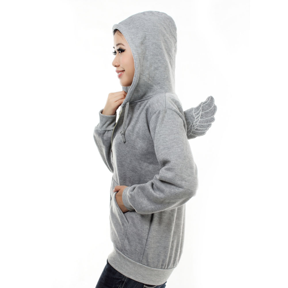 Fashion-Womens-Girls-Angel-Wings-Hoodie-Jacket-Hooded-Coat-Outerwear-Tops