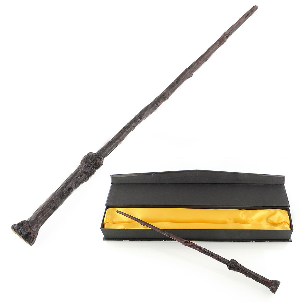 Harry Potter Cosplay Rolle-Spielen Magisch Zauberstab Stab Mit Box Gut Geschenk