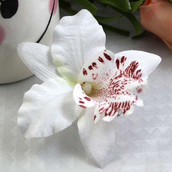 Women Ladies Summer Hawaii Style Beach Vacation Orchid Party Flowers Hair Clips