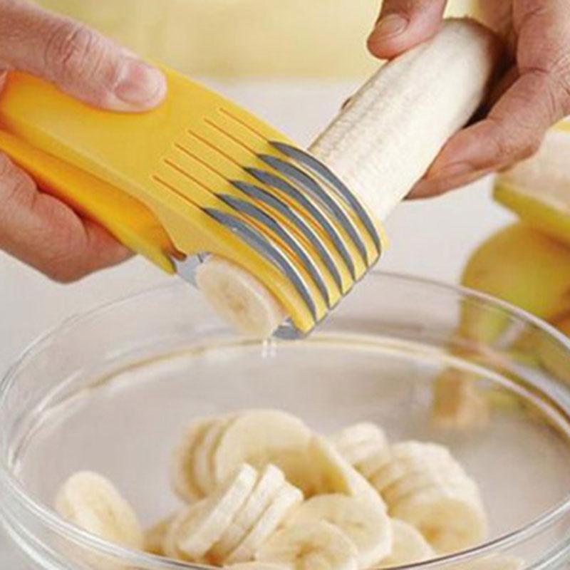Kitchen Tool: Vegetable Fruit Banana Potato Slicer Cutter Shred Peeler Twister