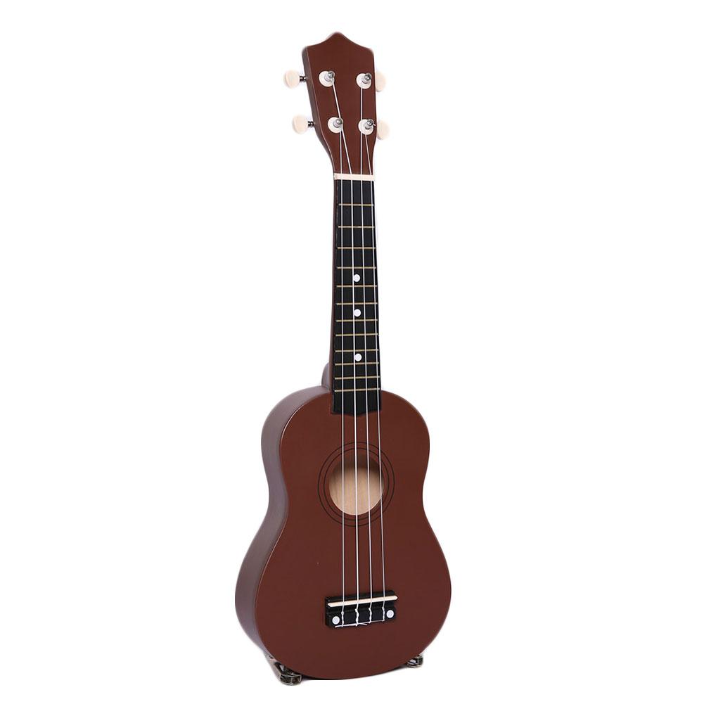 mini vintage 21 acoustic guitar 4 strings ukulele cuatro music instrument. Black Bedroom Furniture Sets. Home Design Ideas
