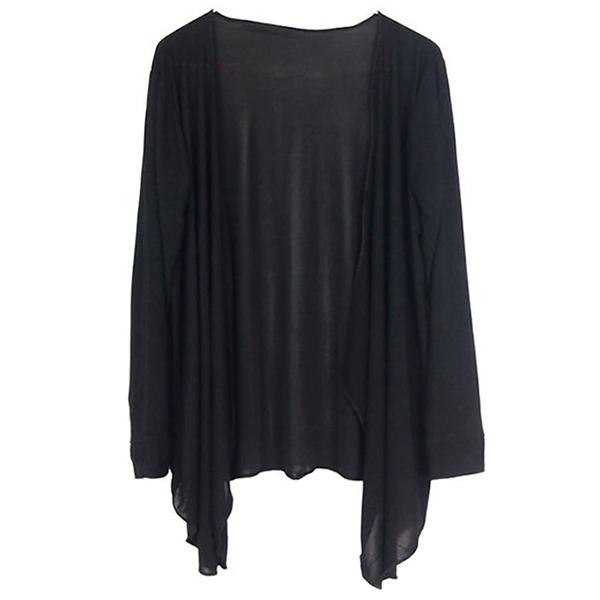 Womens Long  Sleeve Cardigan Sun Protection Anti-UV Coat Outwear Sunblock Tops
