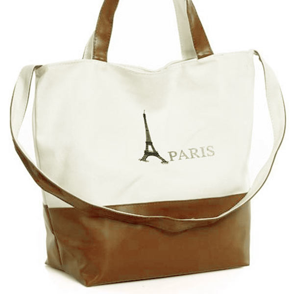 New Unsex Girl Boy Leisure Casual Shoulder Messenger Bag Handbag Brown