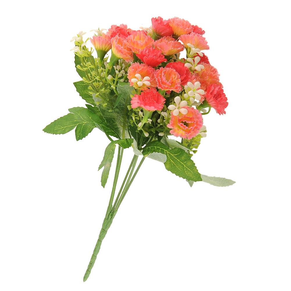 25 Heads Artificial Fake Silk Carnation Flower Bouquet Home Party Wedding Decor