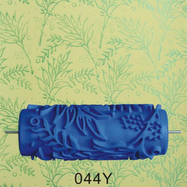 15cm Empaistic Flower Blue Rubber Painting Roller Machine Wall Decor ...