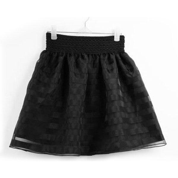 Fashion Women Girl Mini Bubble Short Skirt Princess Bouffant High Waist Dress