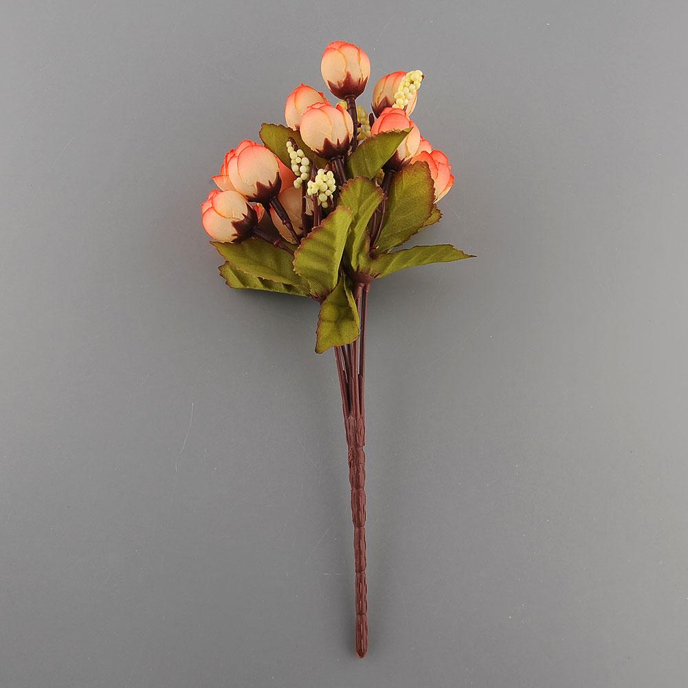 15st seide k nstliche rose blumen f r hochzeit partei. Black Bedroom Furniture Sets. Home Design Ideas