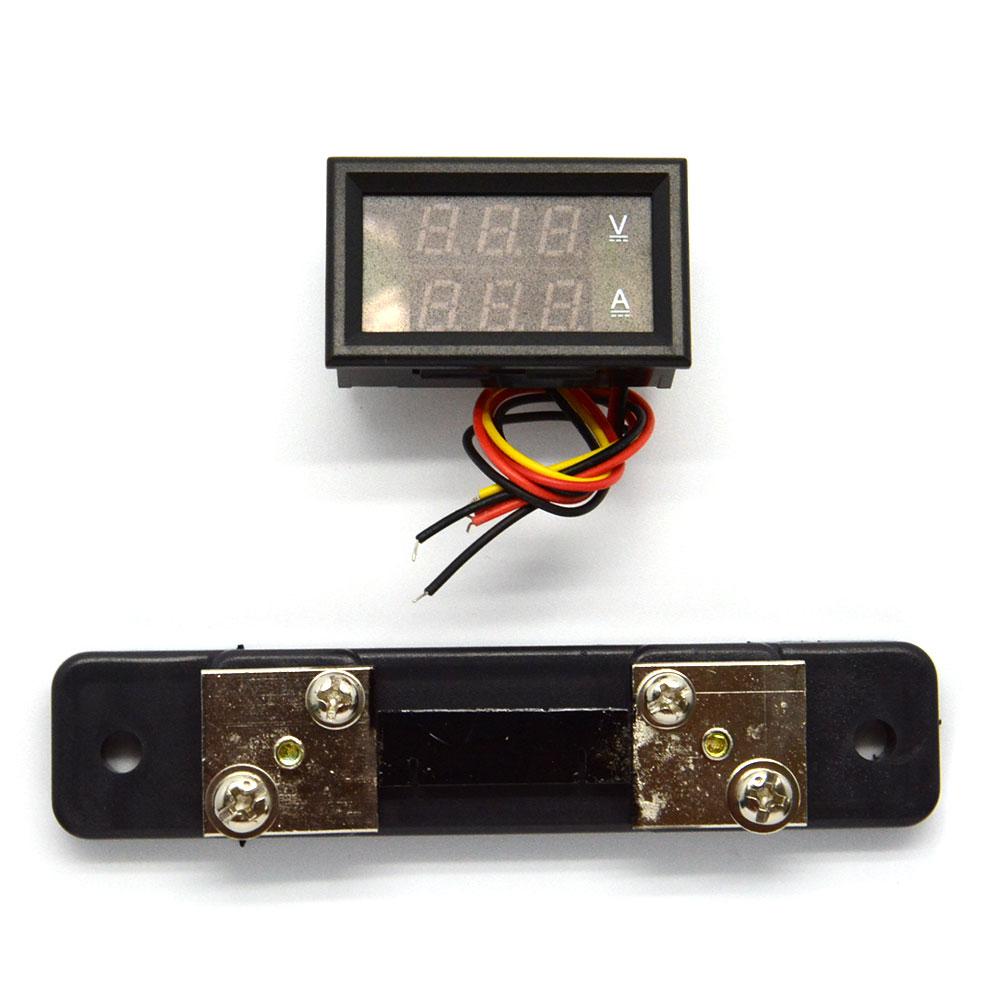 Pg Amp E Meter Number How Can I Know : Led digital dual volt meter ammeter ampere voltage a