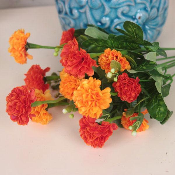 1 bouquet k nstliche kleine chrysanthemum daisy seide silk. Black Bedroom Furniture Sets. Home Design Ideas