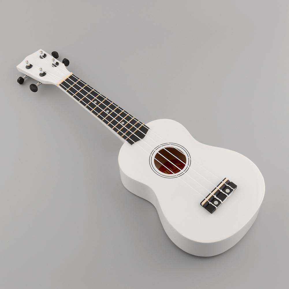 mini vintage 21 acoustic soprano guitar 4 strings ukulele cuatro instrument ebay. Black Bedroom Furniture Sets. Home Design Ideas
