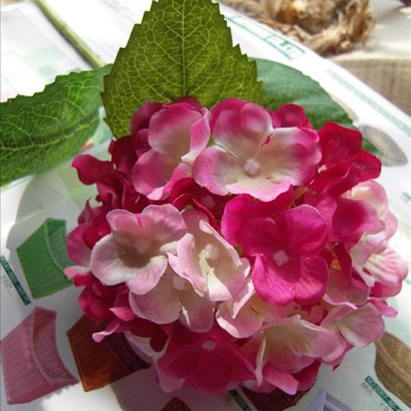 Artificial Silk Flower Hydrangea Home Hotel Wedding Party Floral Decor Art DIY