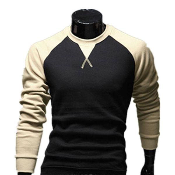 NWT Fashion Men's Casual Slim Fit Muscle Cotton Long Sleeve T-shirt Tops Shirt