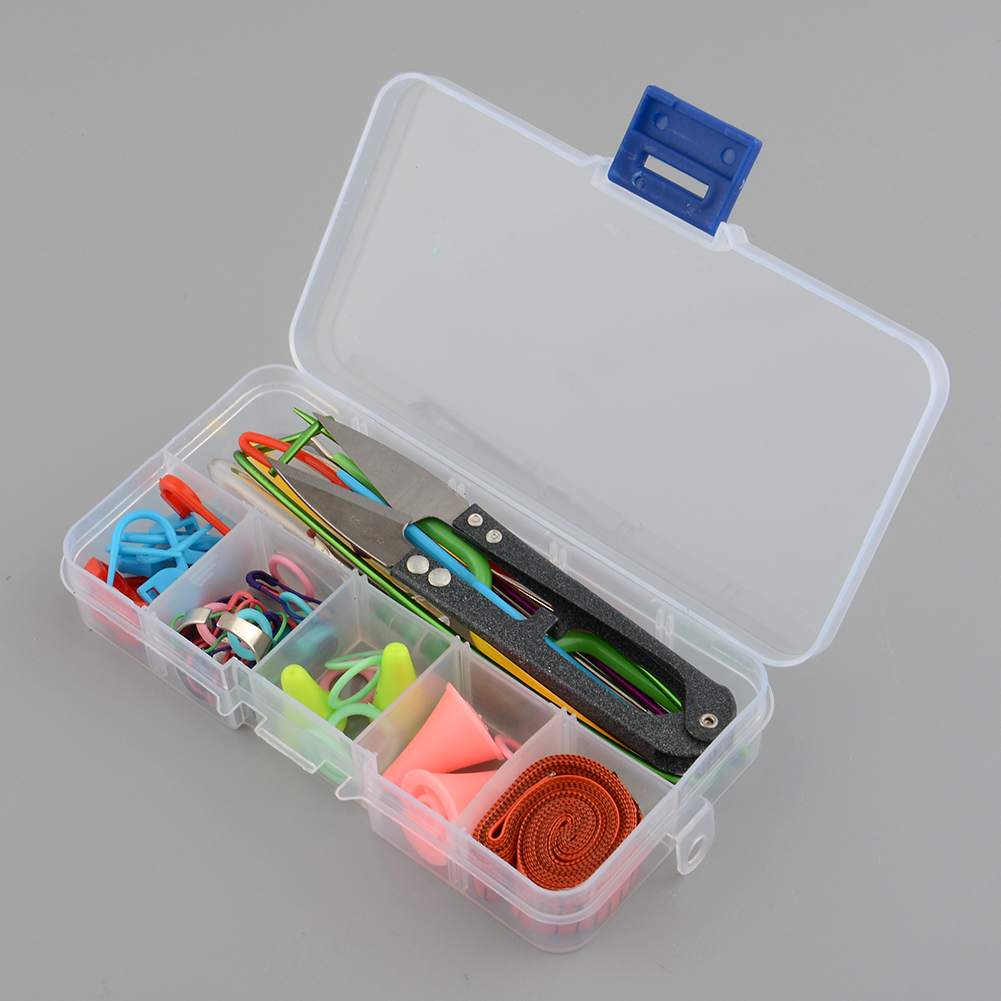 Knitting tools crochet yarn stitch accessories supplies for 5 case kit da letto