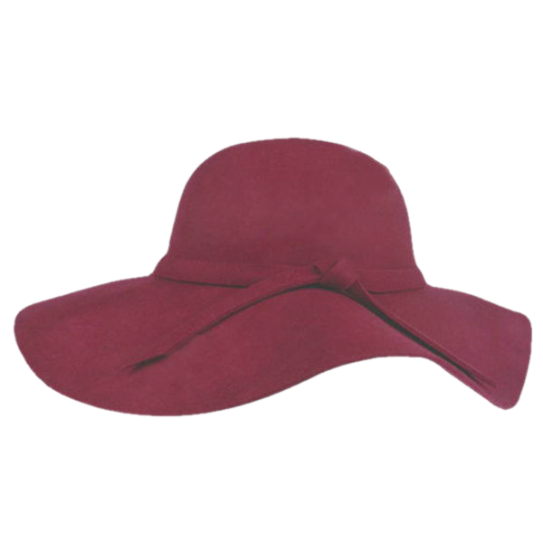 New Women's Wide Brim Wool Felt Bowler Fedora Hat Floppy Cloche Sun Beach Cap