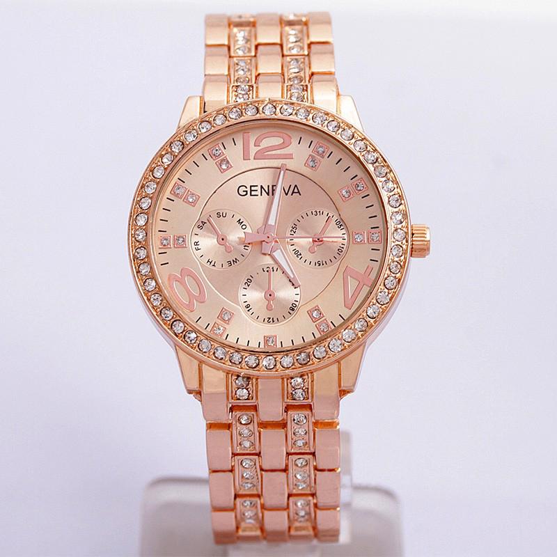 Luxury-Geneva-Unisex-Women-Bling-Stainless-Steel-Crystal-Wrist-Watch-Decor-Gift