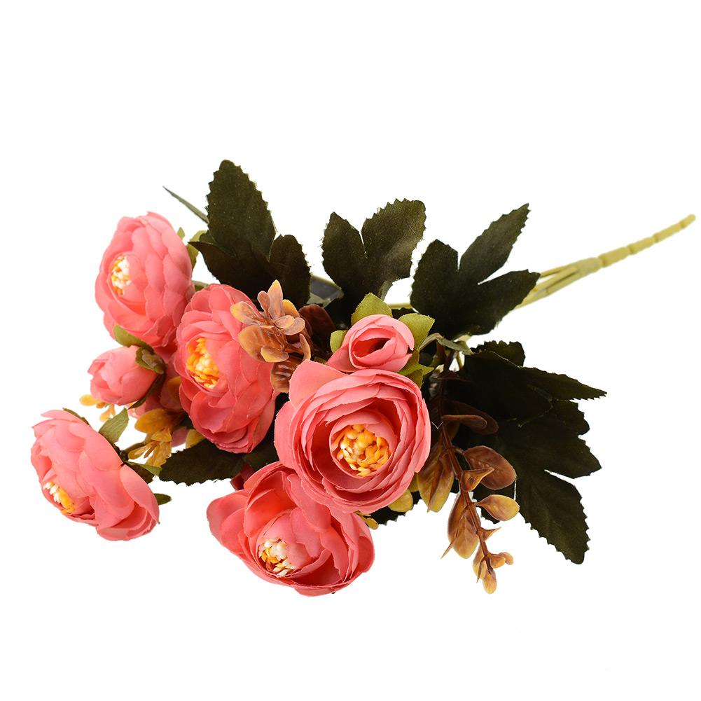 Realistic New Artificial Fake Peony Flower Arrangement Home Hydrangea Decor