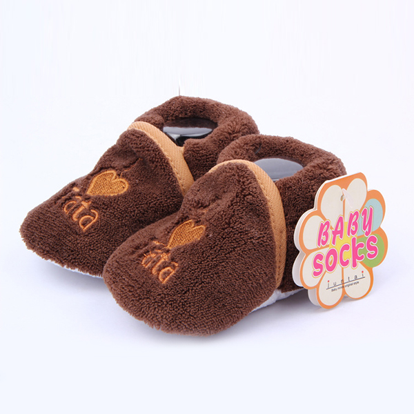 Baby Girl Boy Unisex Booties Soft Sole Shoes Slippers Newborn Toddler 0-12M