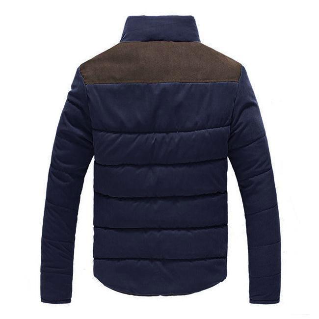 Fashion Slim Warm Winter Men Casual Padded Coat Fit Jacket Overcoat Outwear