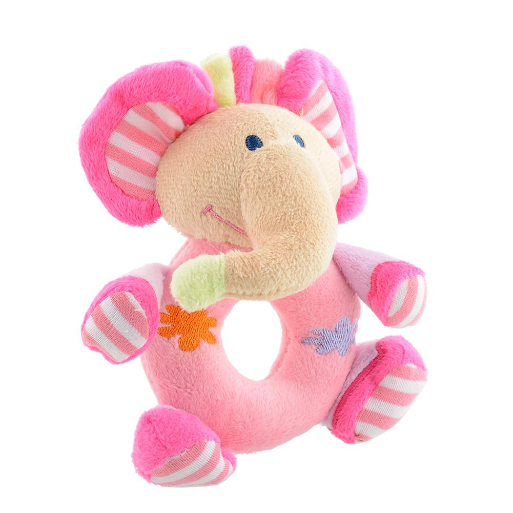 New Soft Toys : New soft animasl plush rattle educational developmental