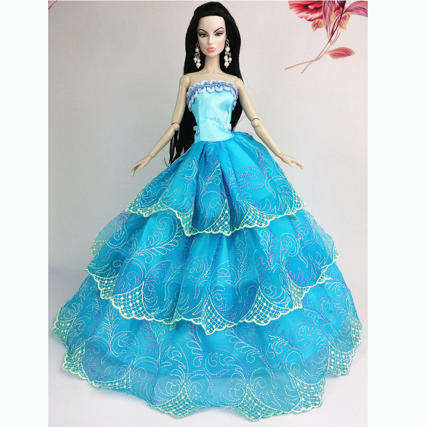 Handmade Wedding Gown Dresses Clothes Outfit Girl Party