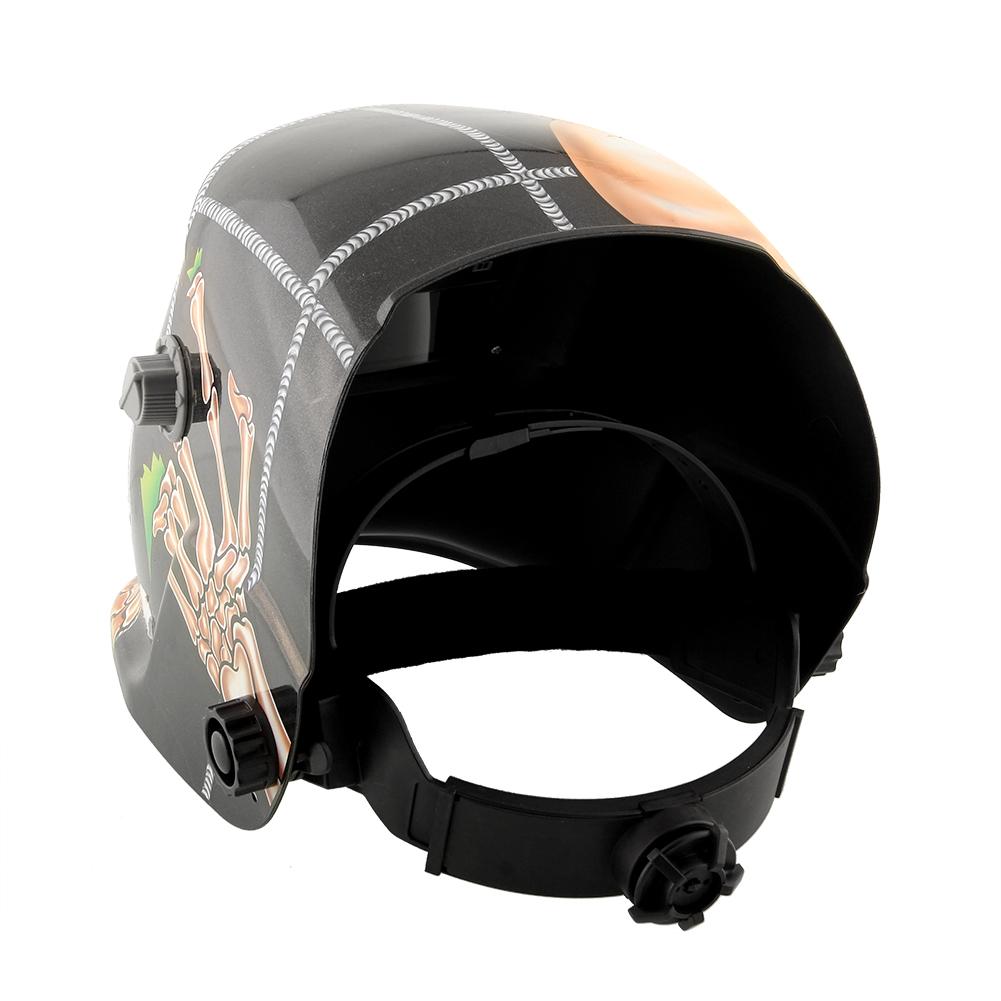 Solar Pro Auto-Darkening Welding Helmet Grinding TIG MIG Welder Mask ARC Hood