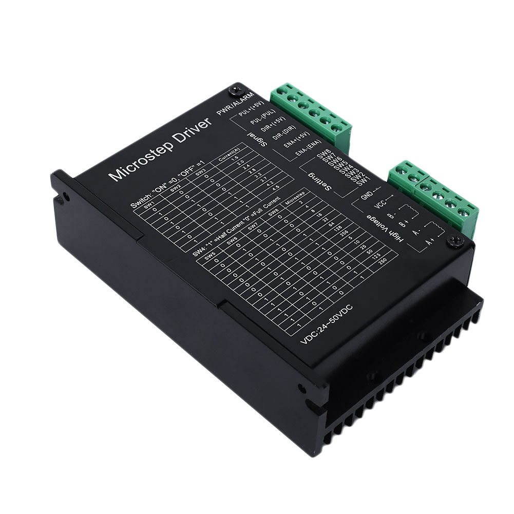 Dm542a 2 4 Phase Stepper Motor Driver Microcontroller Cnc