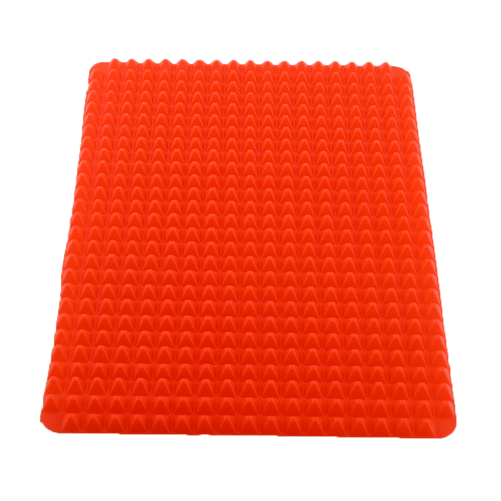 New Durable Pyramid Pan Non Stick Silicone Cooking Mat