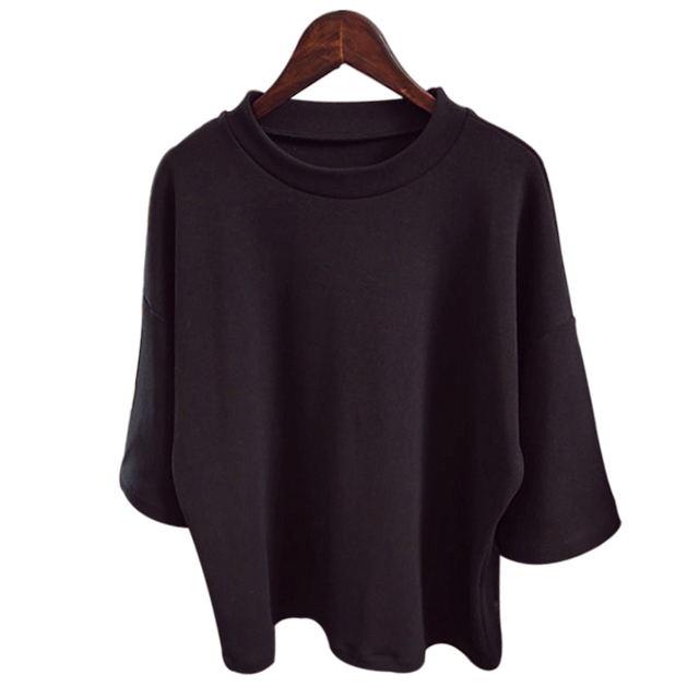 New Korean Women Ladies Casual Blouse Shirt Tee Party Loose T-Shirt Tops