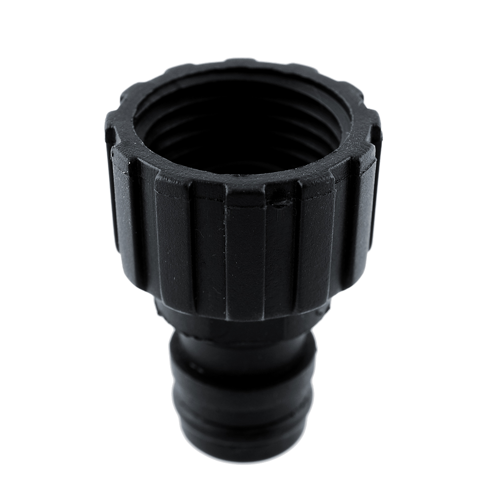 Plastic high pressure water gun tube fittings connector