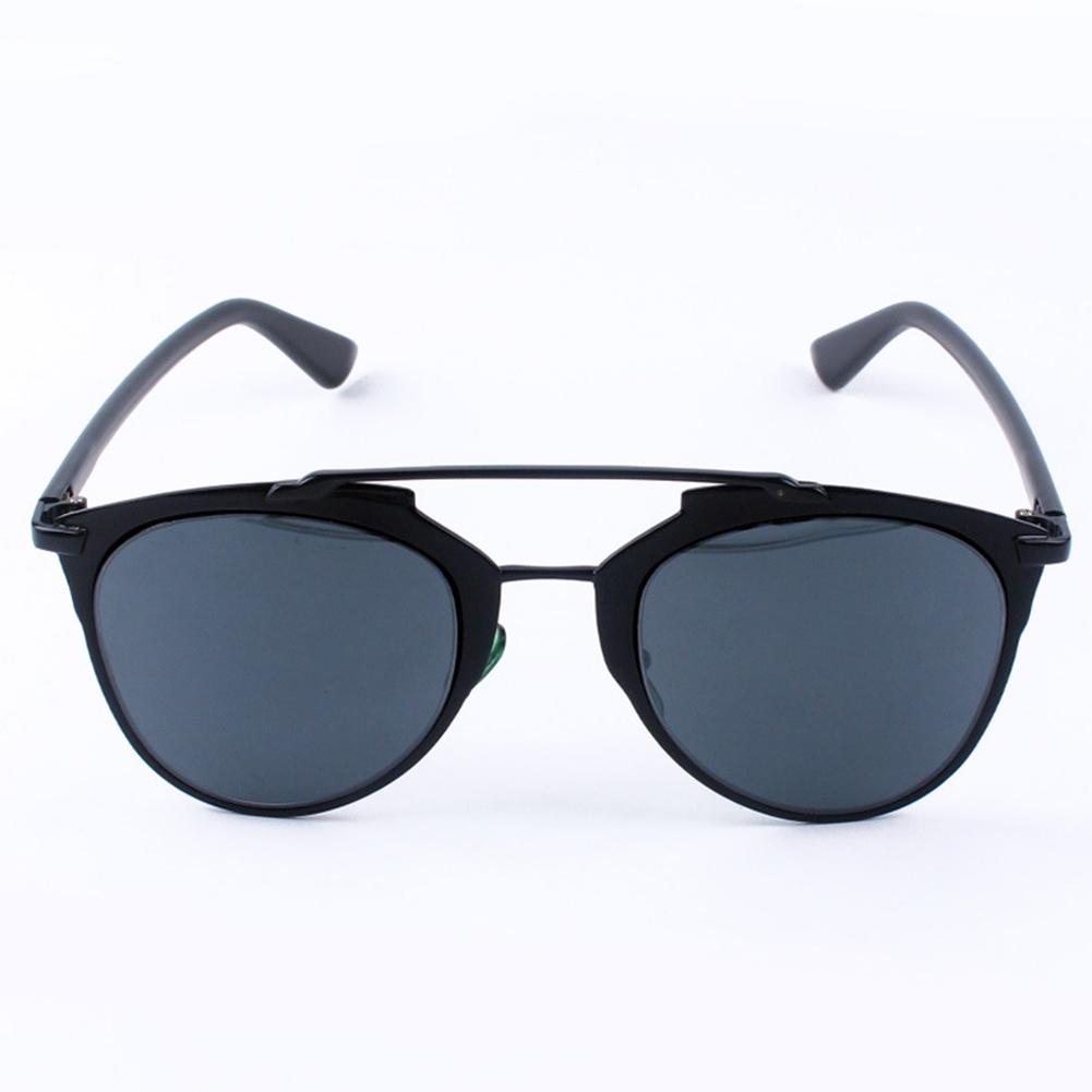 New Unisex Men Women Cat Eye Mirror Vintage Retro Oversized Glasses Sunglasses