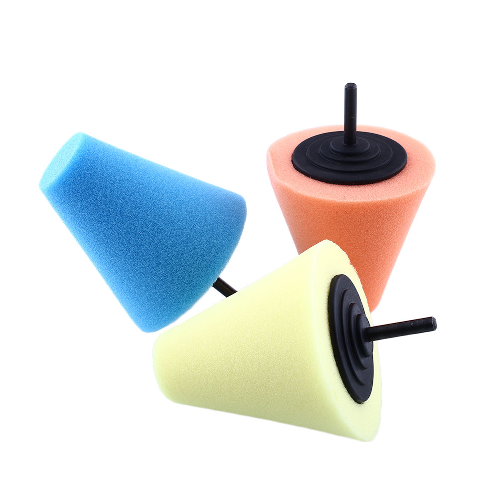 Burnishing Buffing Polishing Cone Sponge Foam Pad Car
